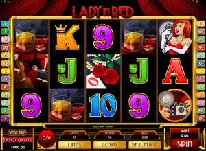 Lady in Red Online Slot